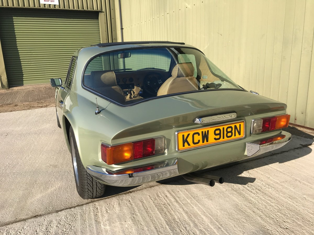 1975 TVR 2500M Coupe with detailed restoration history. VGC For Sale (picture 3 of 6)
