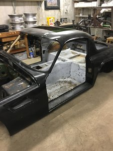 1974 M Body and frame - LHD