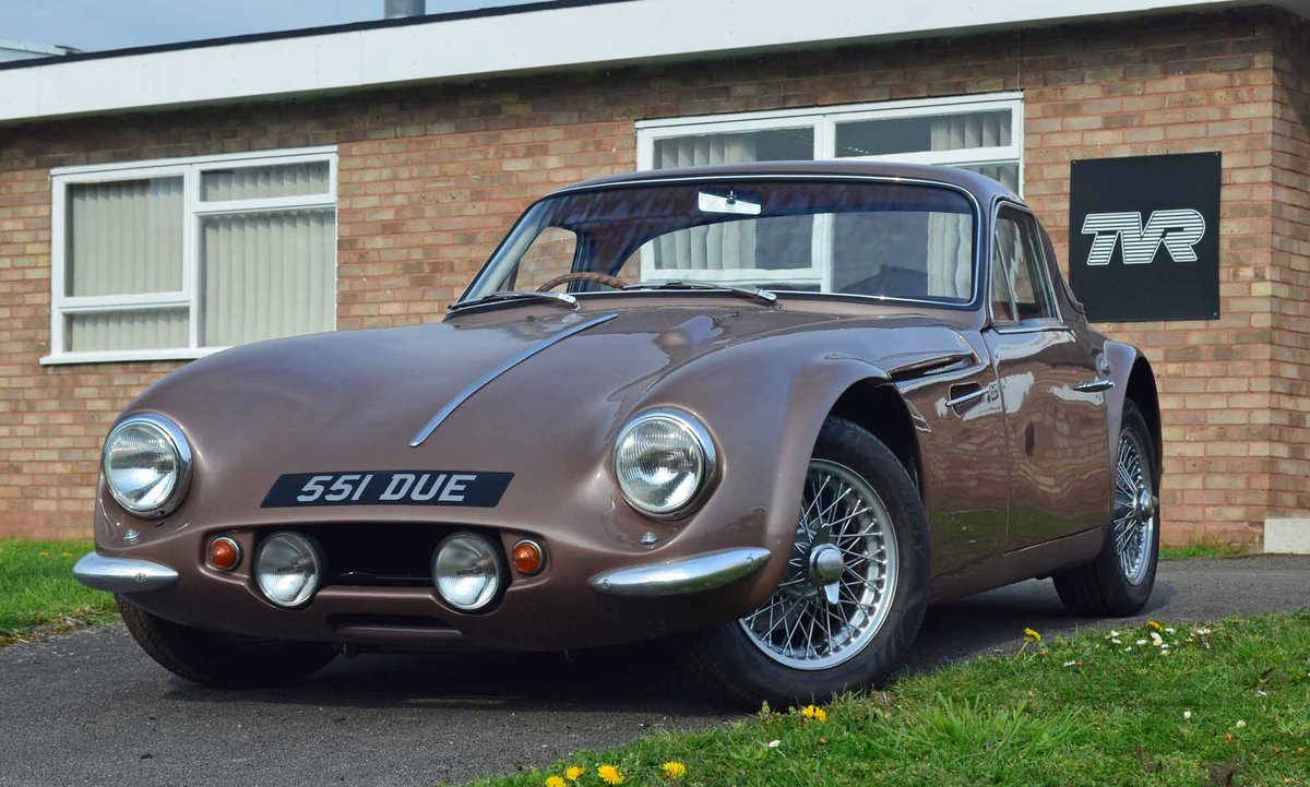 1962 TVR Grantura MkIII - Hardly used since restoration -  For Sale (picture 1 of 6)