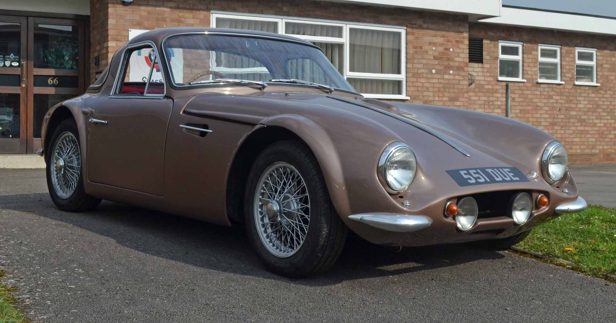 1962 TVR Grantura MkIII - Hardly used since restoration -  For Sale (picture 2 of 6)