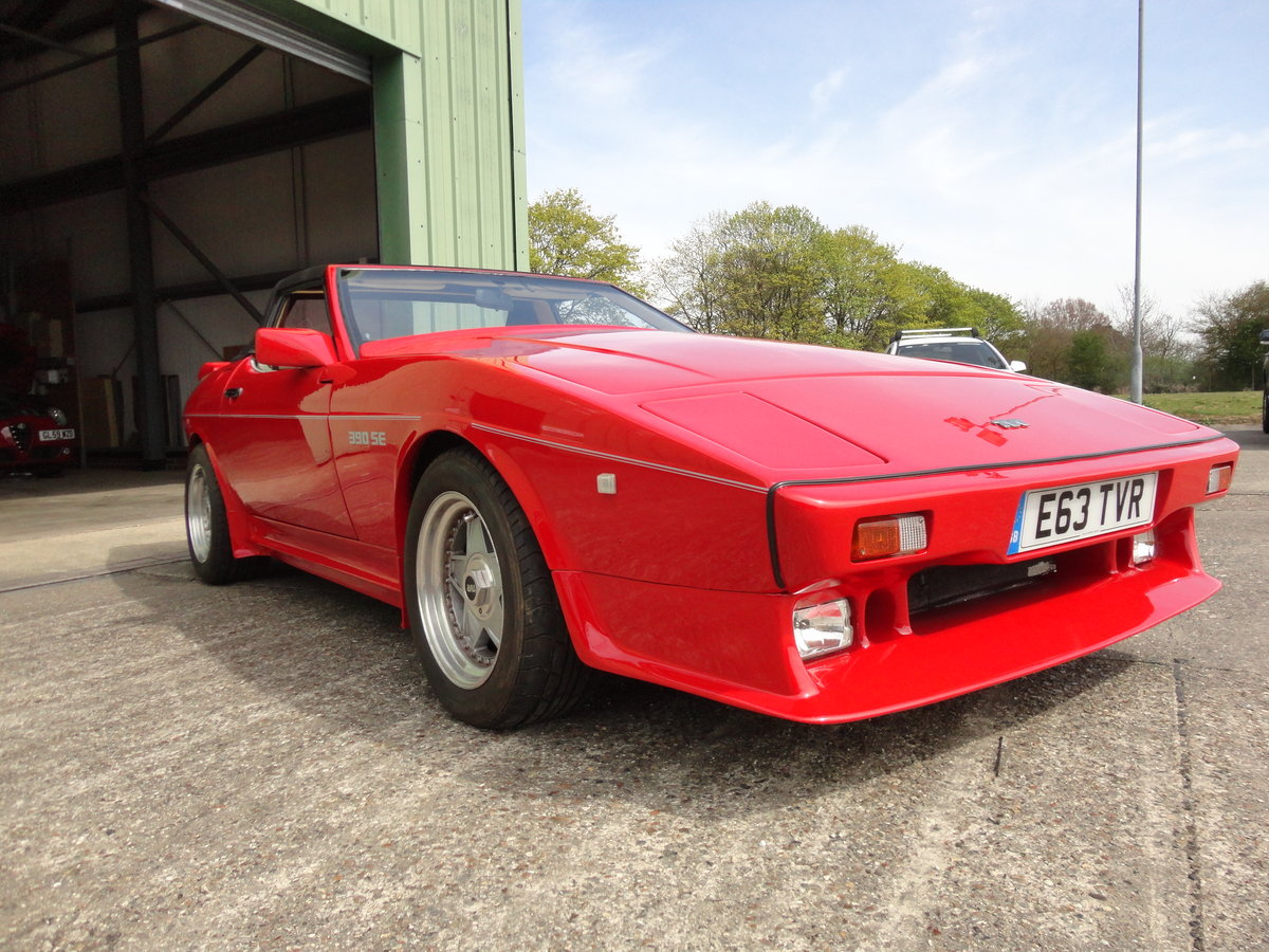 1987 TVR Tasmin 390 SE For Sale (picture 1 of 6)