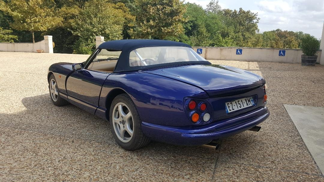 1998 TVR Chimaera 400 low miles For Sale (picture 5 of 6)