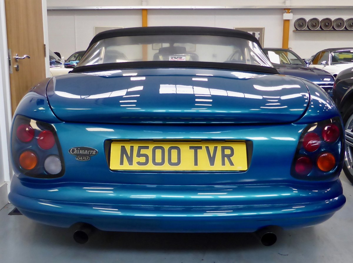 1998 TVR Chimera 500 Sports Convertible For Sale (picture 4 of 4)