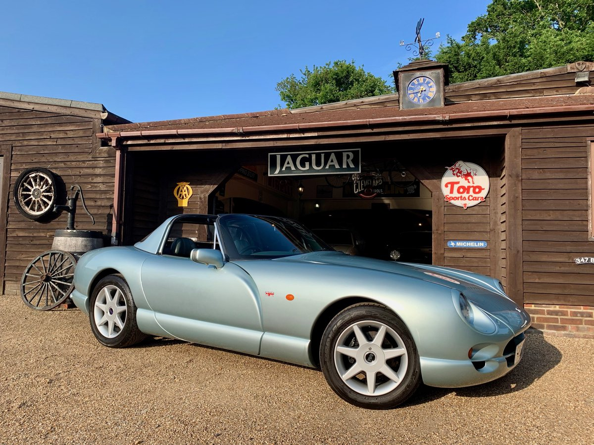 1999 TVR CHIMAERA 450 SOLD (picture 1 of 6)