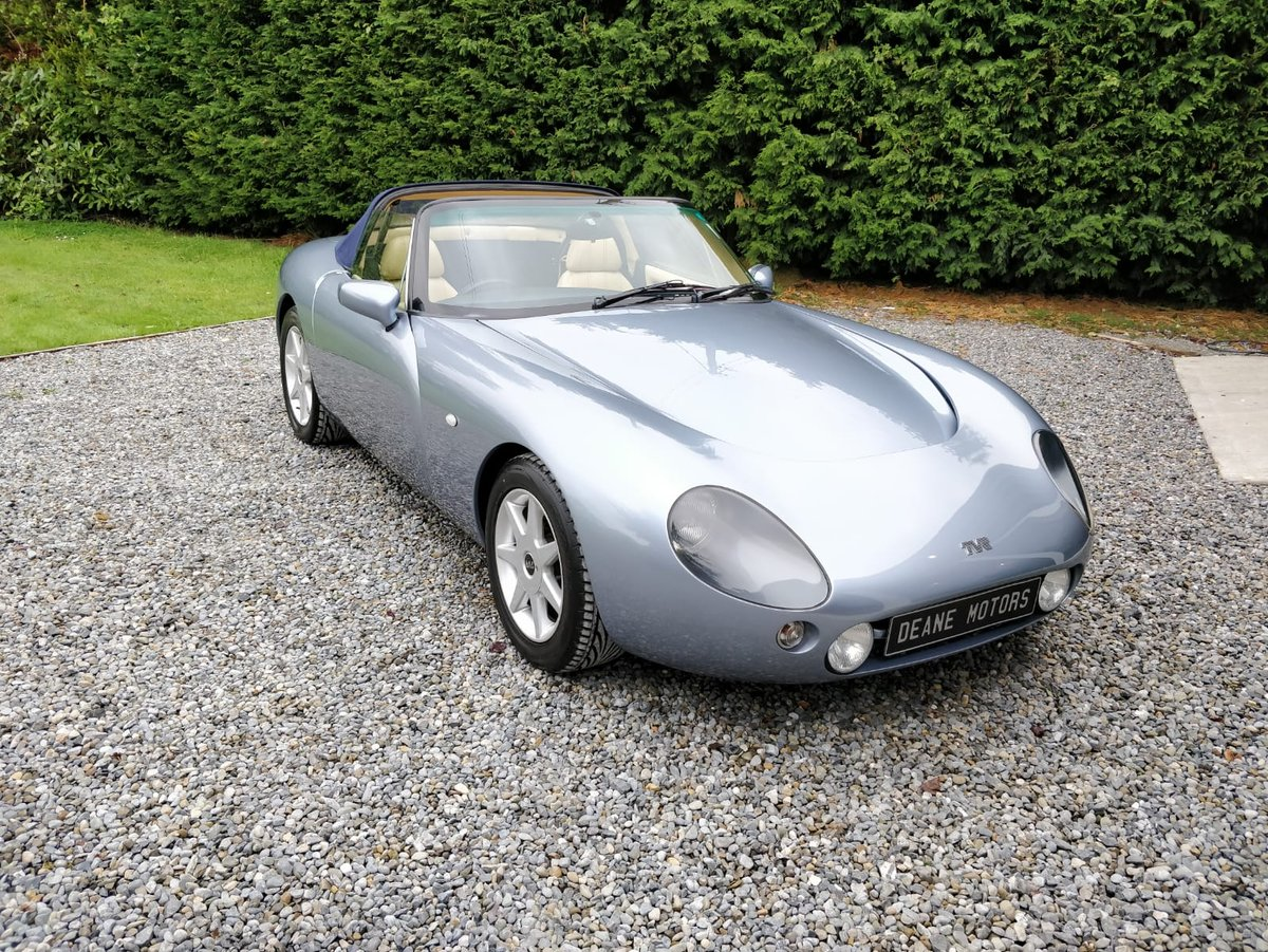 1997 Flawless 18,000 Mile TVR Griffith 500 For Sale (picture 2 of 6)