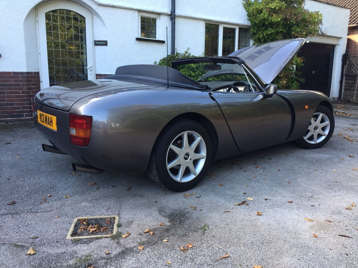 1992 TVR GRIFFITH 47000 MILES FSH PART EX SOMETHING CLASSIC  For Sale (picture 1 of 6)