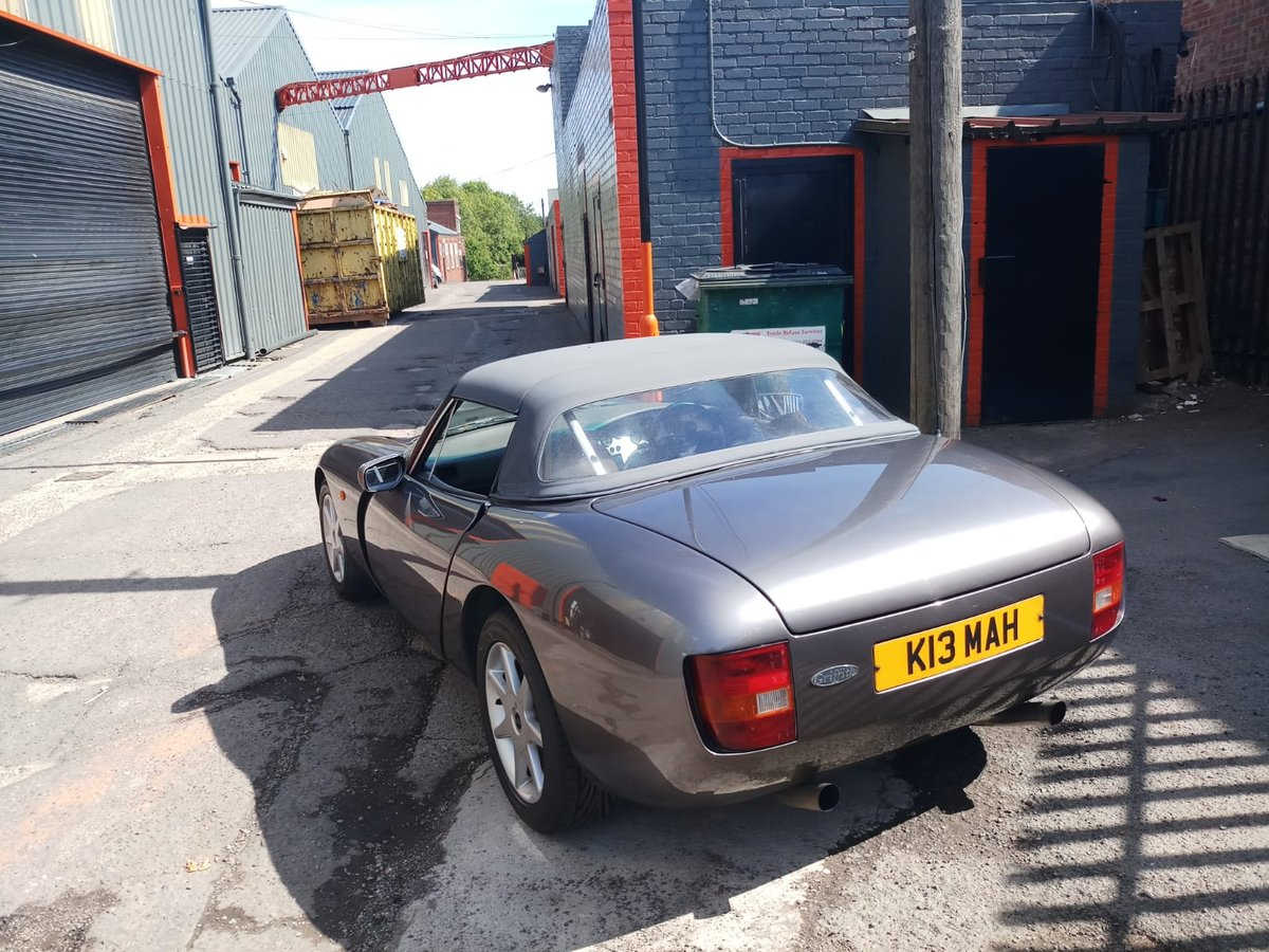 1992 TVR GRIFFITH 47000 MILES FSH PART EX SOMETHING CLASSIC  For Sale (picture 3 of 6)