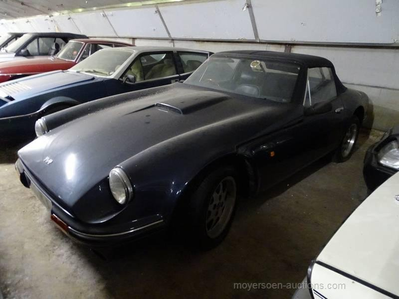 1991 TVR 290S Spider (rhd)  For Sale by Auction (picture 1 of 6)