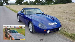 Only 2 owners from new!  TVR Griffith 5.0L 1999, 46k miles For Sale