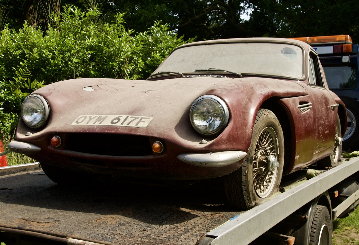 1967 TVR Garage Find. One Owner last 43 years SOLD (picture 1 of 5)