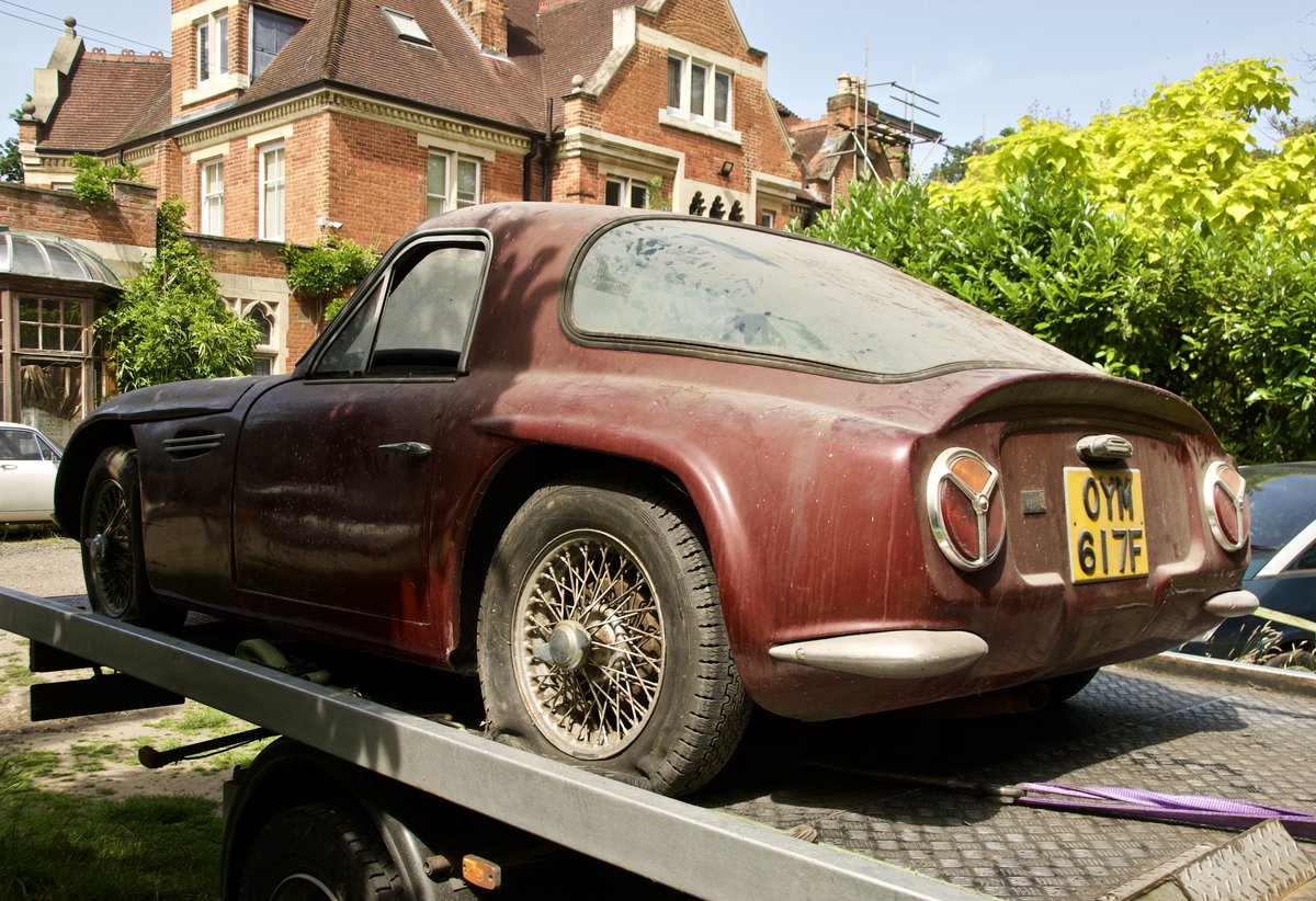 1967 TVR Garage Find. One Owner last 43 years SOLD (picture 2 of 5)