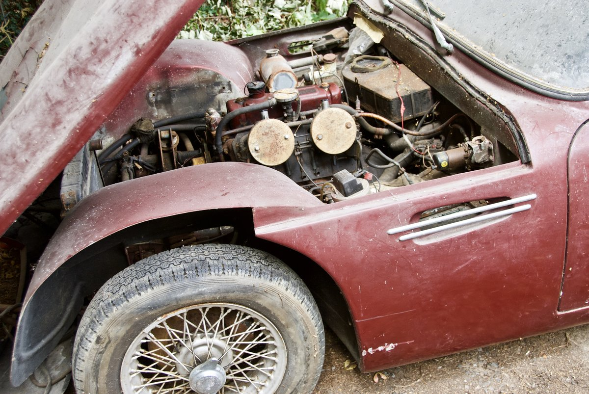 1967 TVR Garage Find. One Owner last 43 years SOLD (picture 4 of 5)