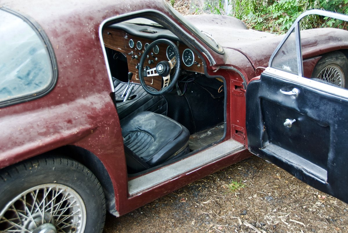 1967 TVR Garage Find. One Owner last 43 years SOLD (picture 5 of 5)