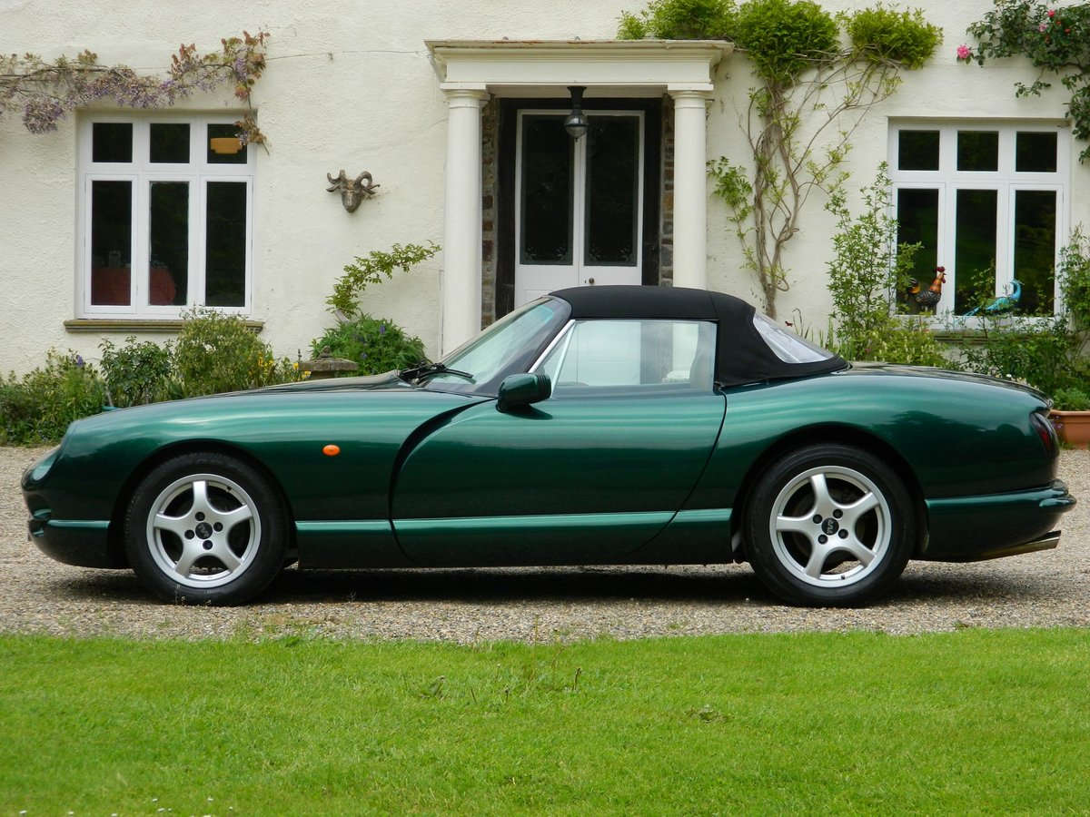 TVR Chimaera 400 PAS - With very rare - Air Con - 1997/P For Sale (picture 3 of 6)