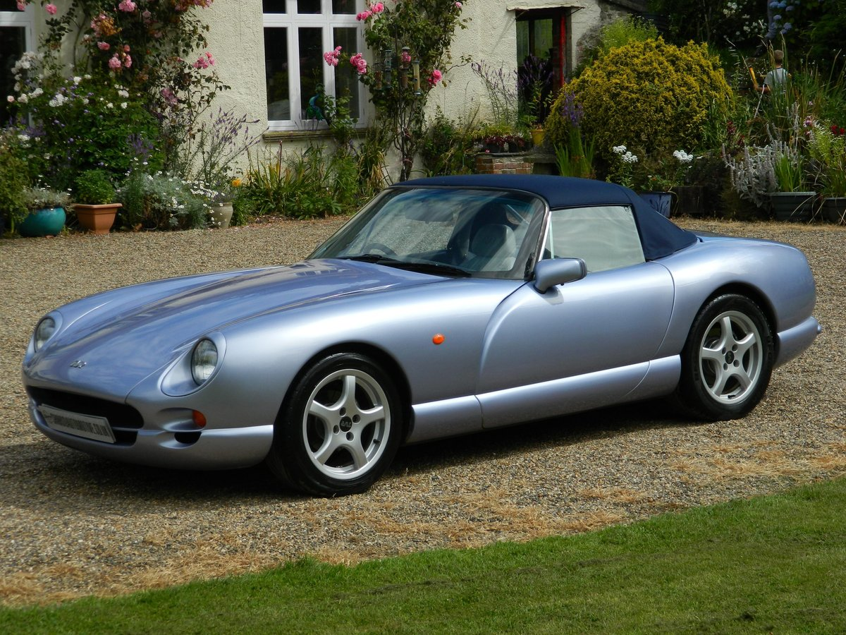 2000 'V' TVR Chimaera 400 PAS New Cam, Body-off refurb SOLD For Sale (picture 3 of 6)