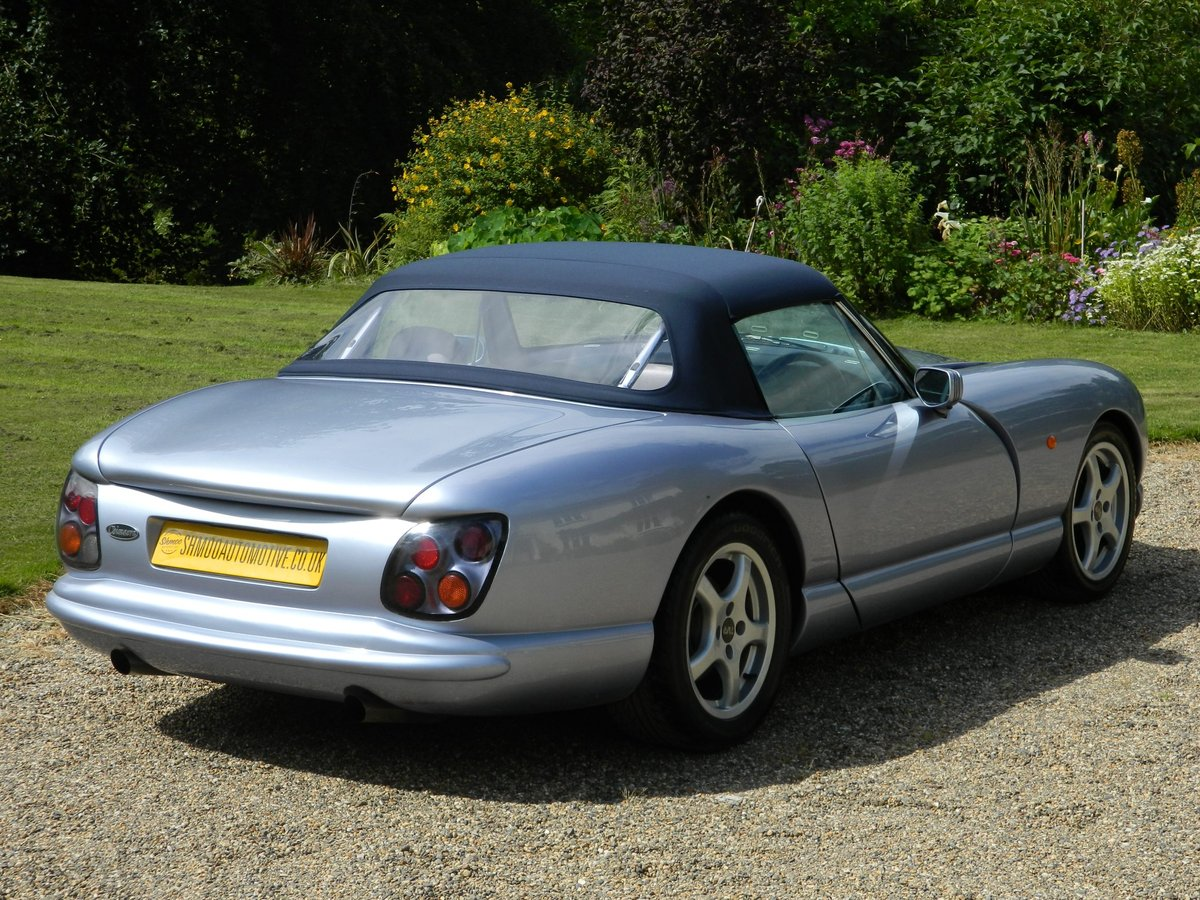 2000 'V' TVR Chimaera 400 PAS - New Cam, Body-off refurb For Sale (picture 4 of 6)