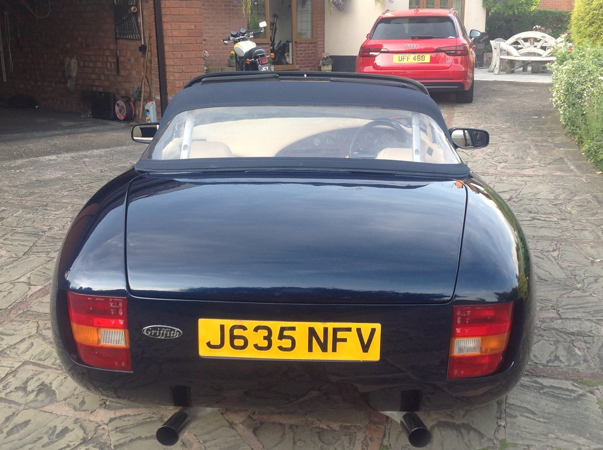1992 TVR Griffith 400 V8 Genuine 21900 miles SOLD (picture 4 of 6)