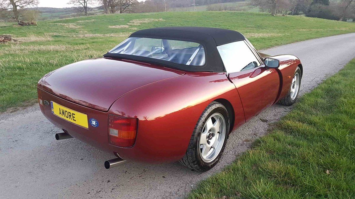 Fantastic TVR 4.3 Precat Griffith 1992 For Sale (picture 3 of 6)