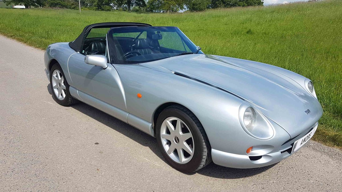 1999 TVR Chimaera 4.5 Artic Silver – New Powers Rebuild New outri For Sale (picture 1 of 6)