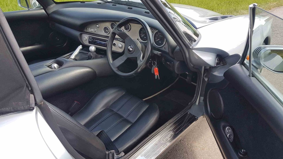 1999 TVR Chimaera 4.5 Artic Silver – New Powers Rebuild New outri For Sale (picture 5 of 6)