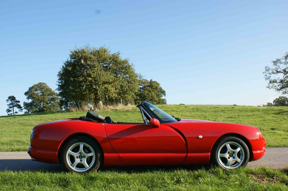 1996 TVR Chimaera 400 in Fantastic 'TVR Italian Red'  For Sale (picture 1 of 6)