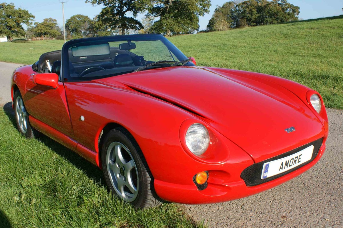 1996 TVR Chimaera 400 in Fantastic 'TVR Italian Red'  For Sale (picture 2 of 6)