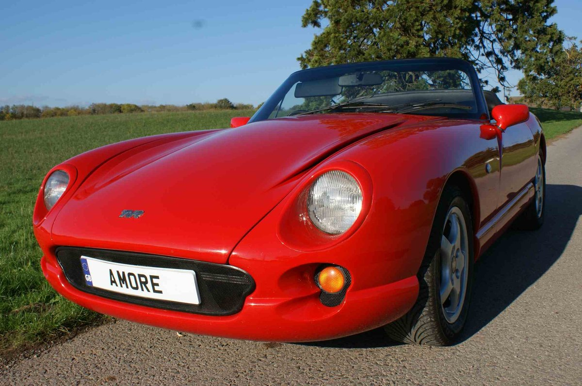 1996 TVR Chimaera 400 in Fantastic 'TVR Italian Red'  For Sale (picture 3 of 6)