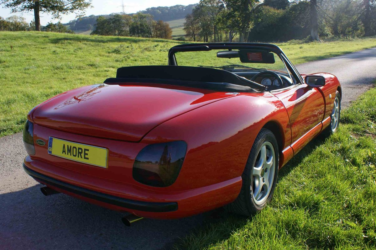 1996 TVR Chimaera 400 in Fantastic 'TVR Italian Red'  For Sale (picture 4 of 6)