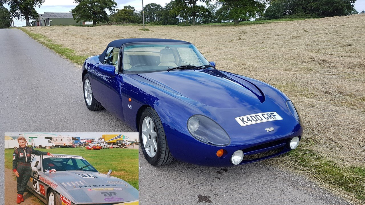 Sold-Only 2 owners from new! TVR Griffith 5.0L 1999 SOLD (picture 1 of 6)