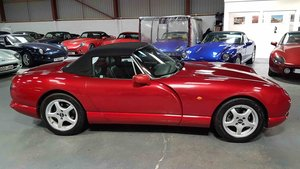 sold - 1997 MK2 TVR Chimaera 4L in Rosso Pearl  SOLD