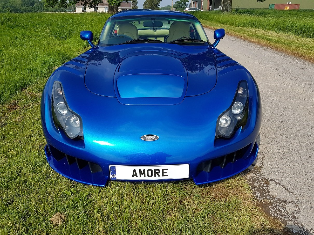 2005 Sagaris GTS Blue Pearlescent Full Hide – Beautiful For Sale (picture 2 of 6)