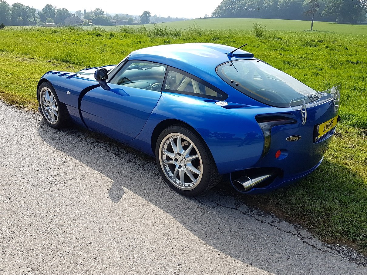 2005 Sagaris GTS Blue Pearlescent Full Hide – Beautiful For Sale (picture 3 of 6)