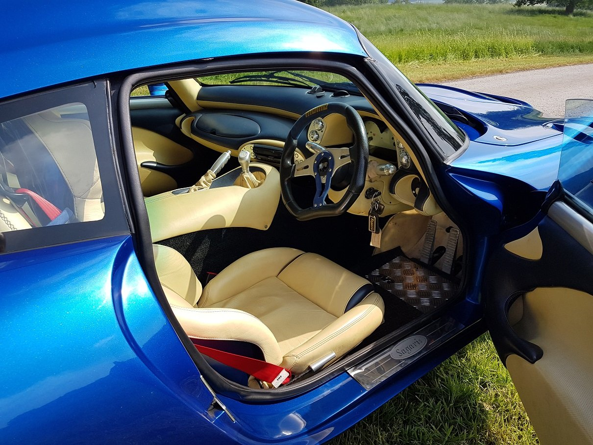 2005 Sagaris GTS Blue Pearlescent Full Hide – Beautiful For Sale (picture 5 of 6)