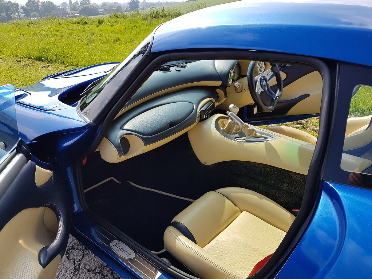 2005 Sagaris GTS Blue Pearlescent Full Hide – Beautiful For Sale (picture 6 of 6)