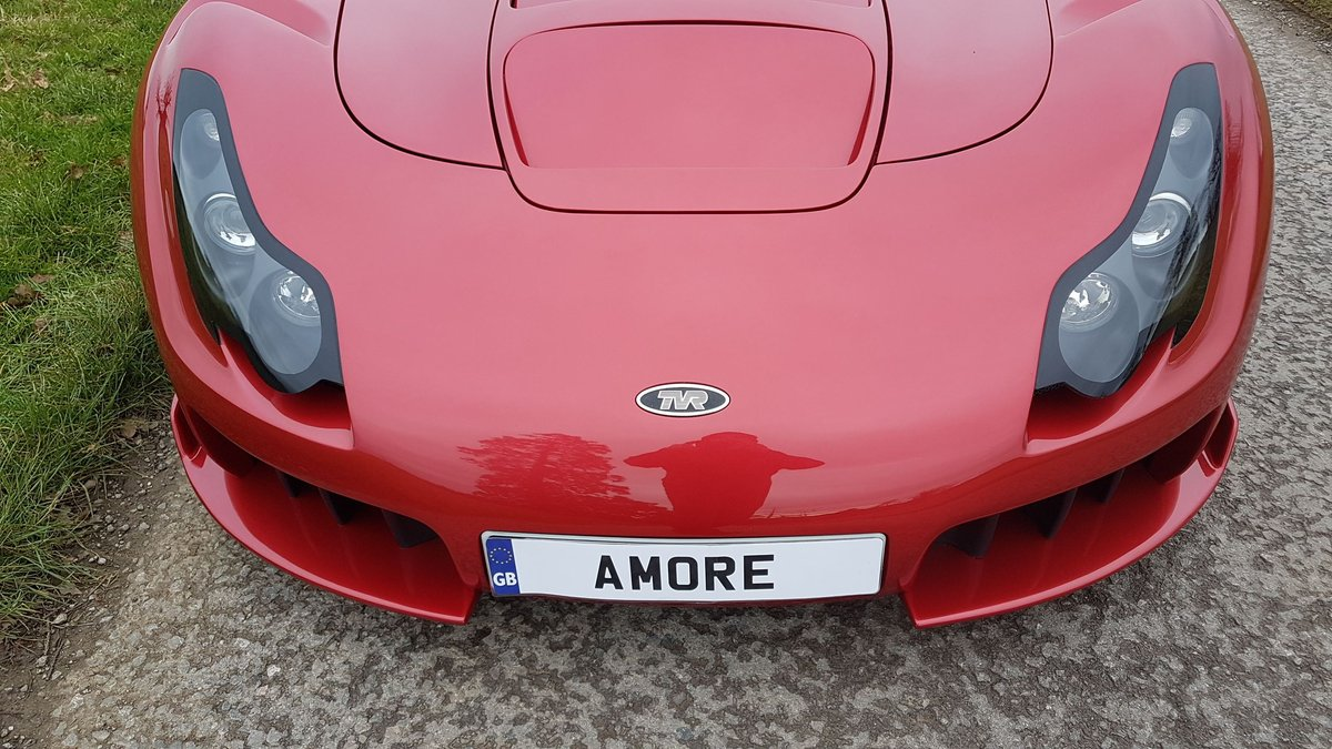 TVR Sagaris 4.3, 2006, Red Glow Pearl, Full respray  For Sale (picture 4 of 6)