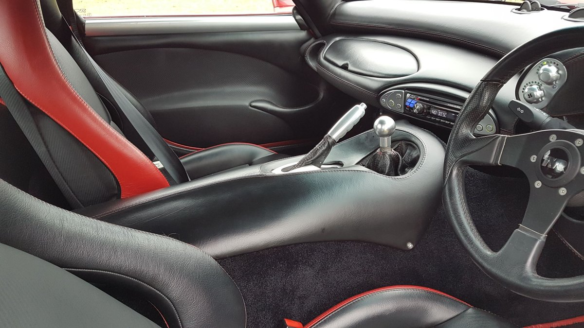 TVR Sagaris 4.3, 2006, Red Glow Pearl, Full respray  For Sale (picture 5 of 6)