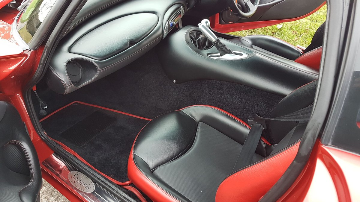 TVR Sagaris 4.3, 2006, Red Glow Pearl, Full respray  For Sale (picture 6 of 6)