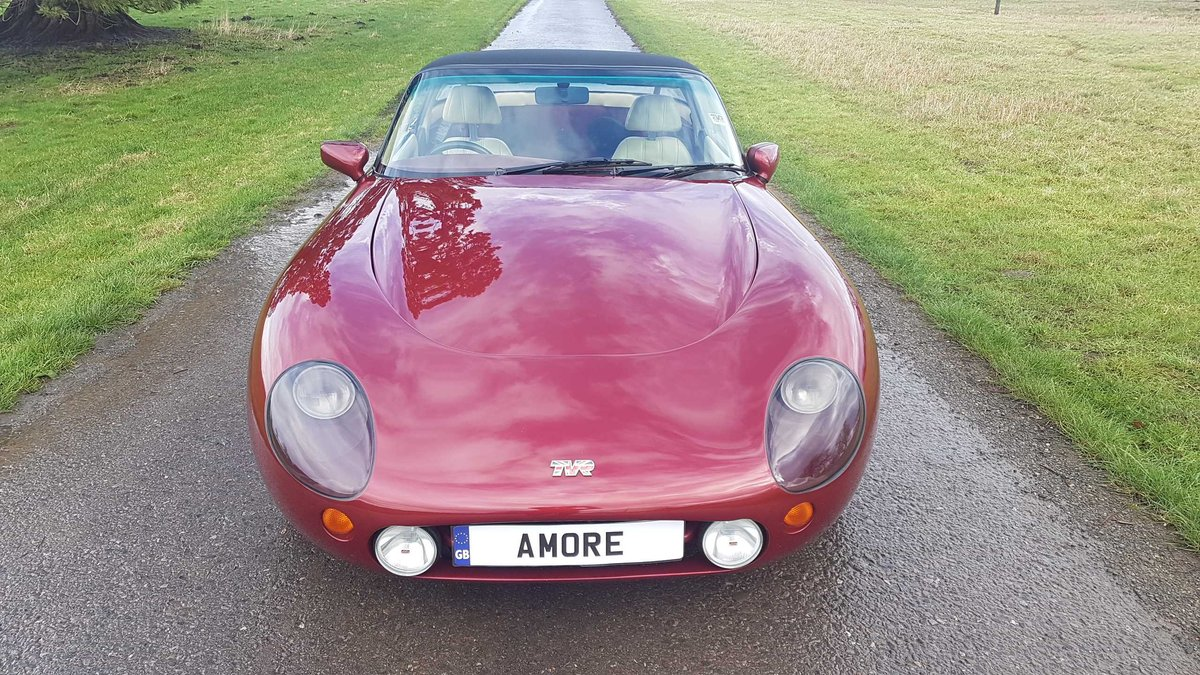 1995 TVR Griffith 500 Ruby Red, Powers overhaul, Nitrons, SOLD (picture 2 of 6)