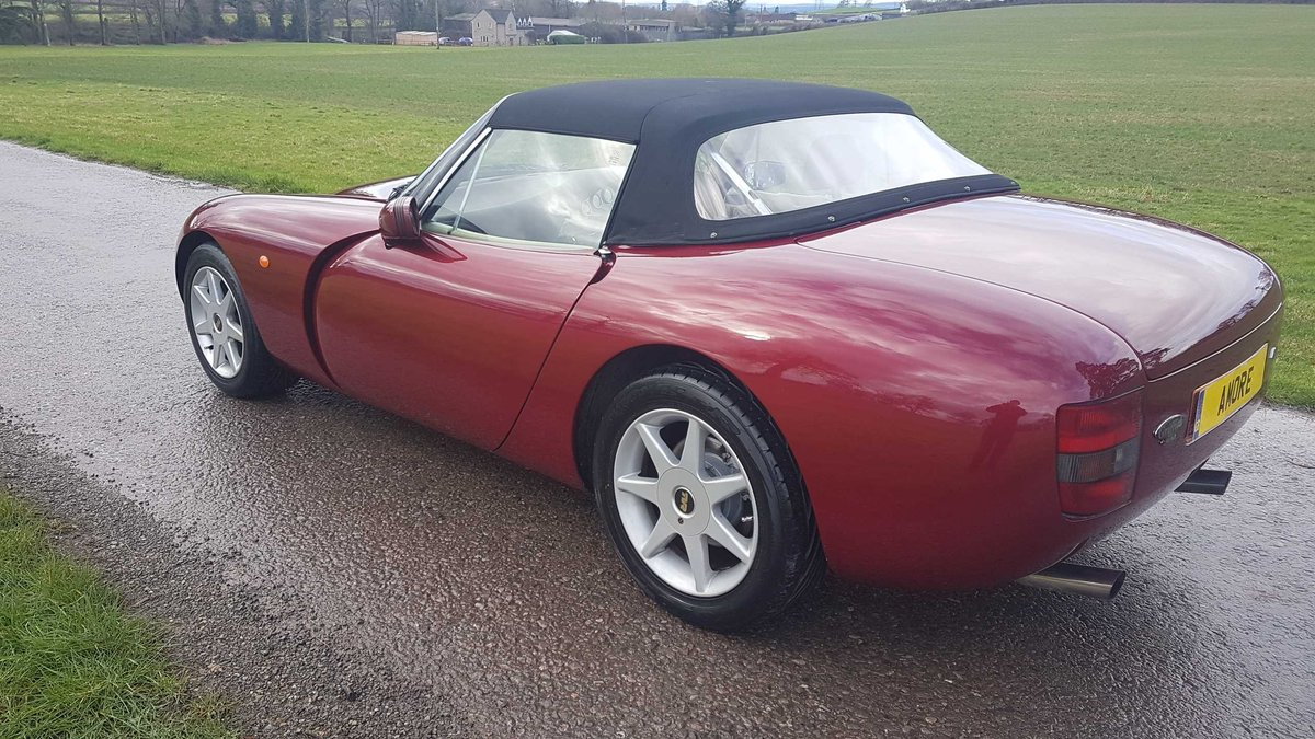1995 TVR Griffith 500 Ruby Red, Powers overhaul, Nitrons, SOLD (picture 3 of 6)