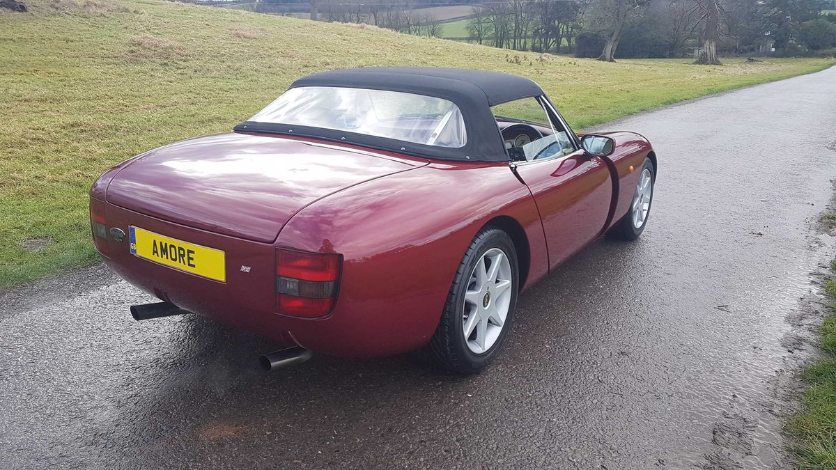 1995 TVR Griffith 500 Ruby Red, Powers overhaul, Nitrons, SOLD (picture 4 of 6)
