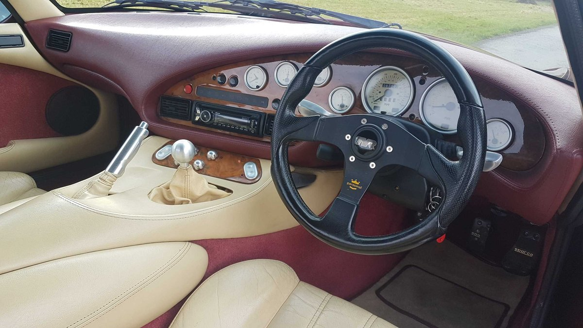1995 TVR Griffith 500 Ruby Red, Powers overhaul, Nitrons, SOLD (picture 5 of 6)