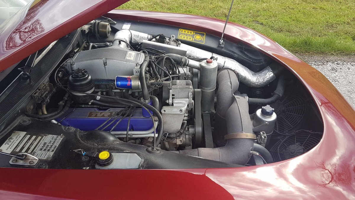 1995 TVR Griffith 500 Ruby Red, Powers overhaul, Nitrons, SOLD (picture 6 of 6)