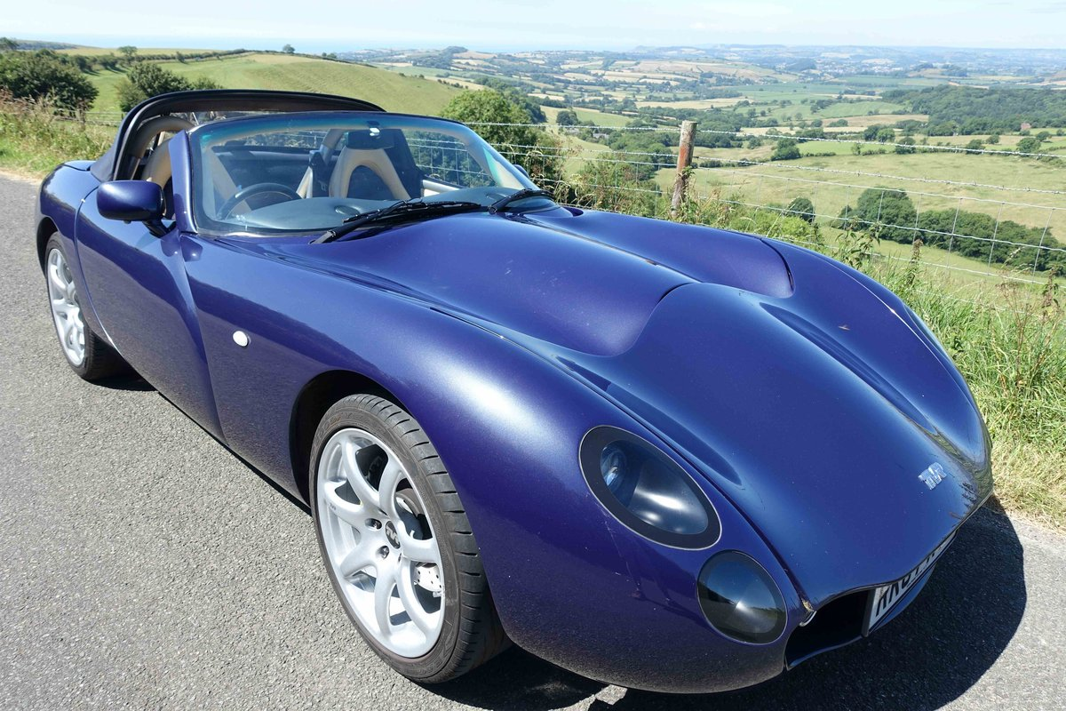 1 Owner 2007 MK3 TVR Tuscan Space Blue 27 For Sale (picture 1 of 6)