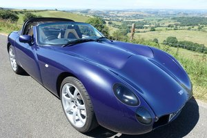 2007 Stunning 1 Owner MK3 TVR Tuscan Convertible in Space Blue