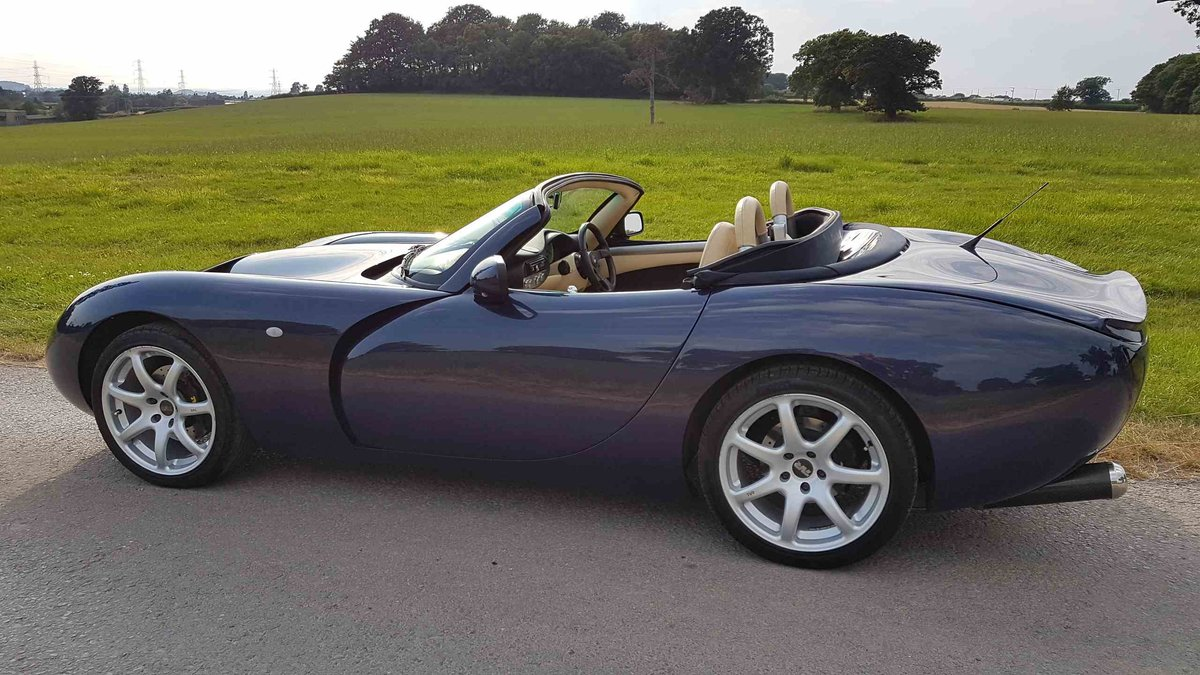 1 Owner 2007 MK3 TVR Tuscan Space Blue 27 For Sale (picture 3 of 6)