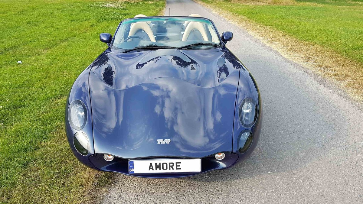 1 Owner 2007 MK3 TVR Tuscan Space Blue 27 For Sale (picture 5 of 6)