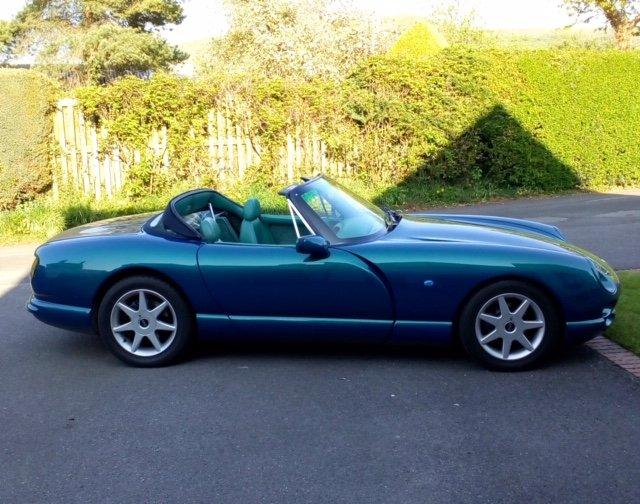1998 TVR Chimaera Rare 5 litre convertible For Sale (picture 2 of 6)