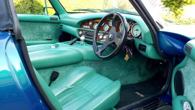 1998 TVR Chimaera Rare 5 litre convertible For Sale (picture 4 of 6)