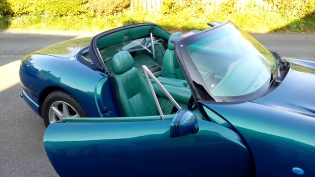 1998 TVR Chimaera Rare 5 litre convertible For Sale (picture 6 of 6)
