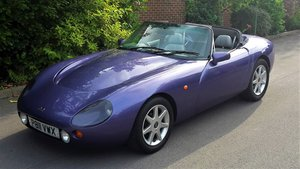 1997 SUPER LOW MILEAGE TVR GRIFFITH 5.0 V8 WITH PAS / PX